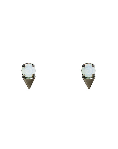 Mini Crystal Cone Studs_WT
