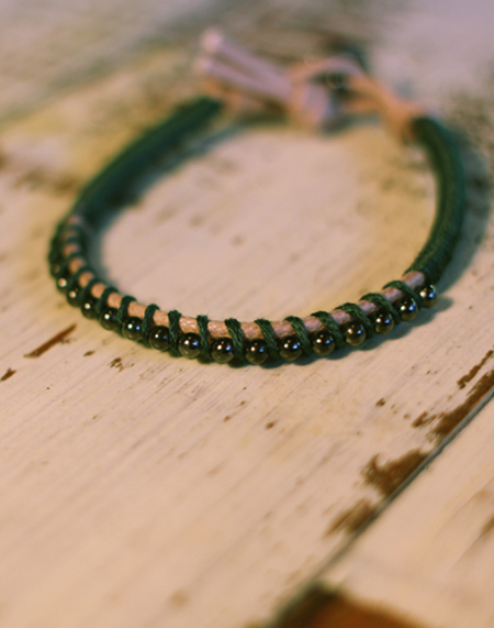 BL Basic_Beads_Deep green