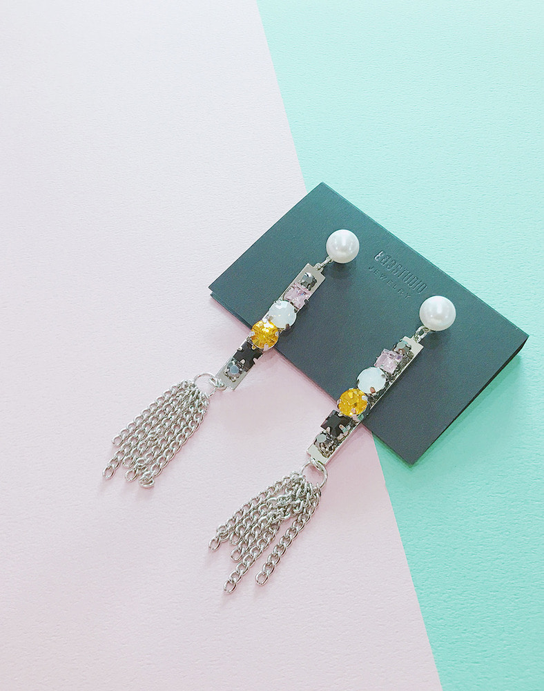 Alicia Crystal earring
