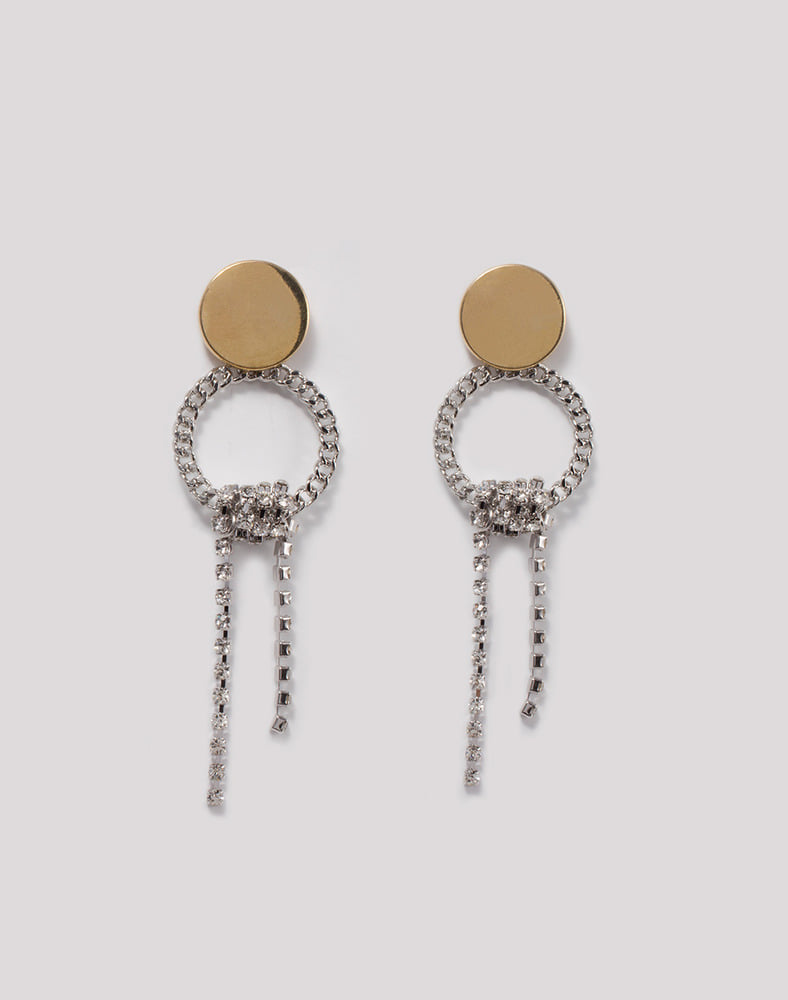 Blair Chain ring Drop earring
