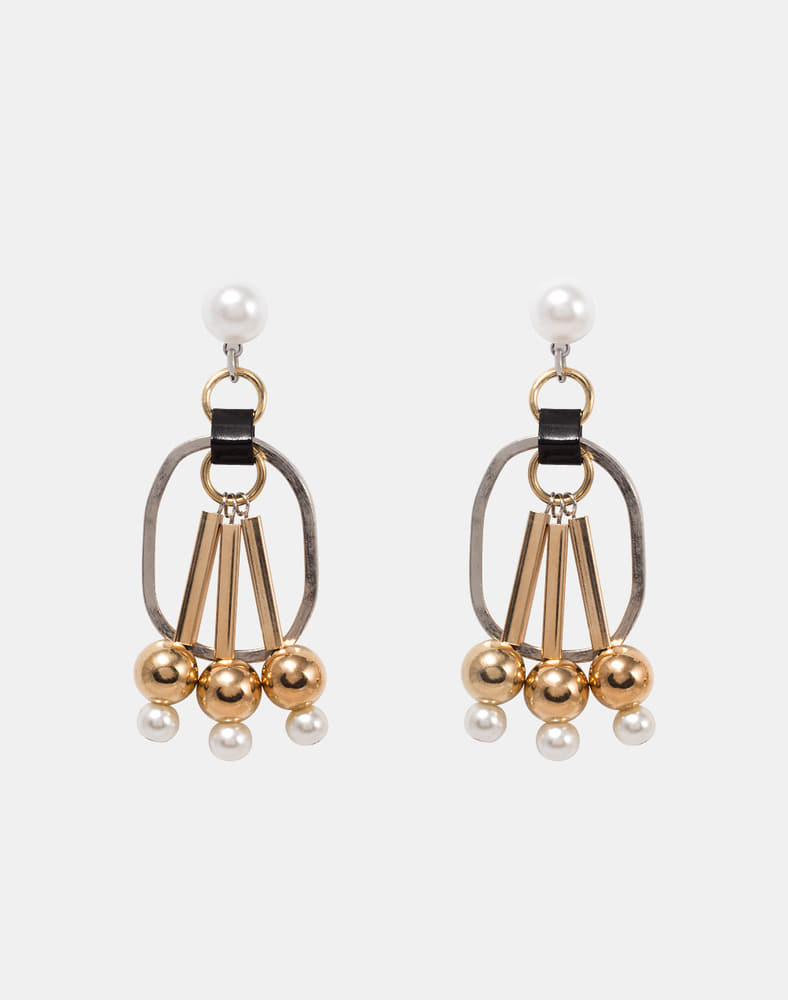 Nadia Ball Drop earring